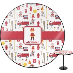 Firefighter Character Round Table (Personalized)