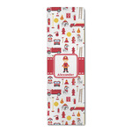 Firefighter Character Runner Rug - 3.66'x8' w/ Name or Text