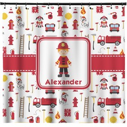 Firefighter for Kids Shower Curtain (Personalized)