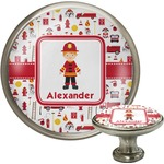 Firefighter Character Cabinet Knobs (Personalized)