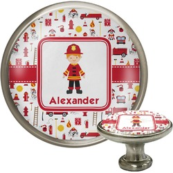 Firefighter for Kids Cabinet Knobs (Personalized)