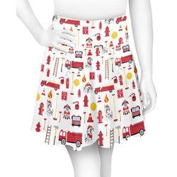 Firefighter for Kids Skater Skirt (Personalized)