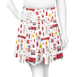 Firefighter for Kids Skater Skirt (Personalized)