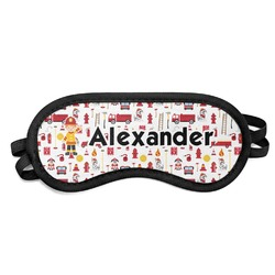 Firefighter Sleeping Eye Mask (Personalized)