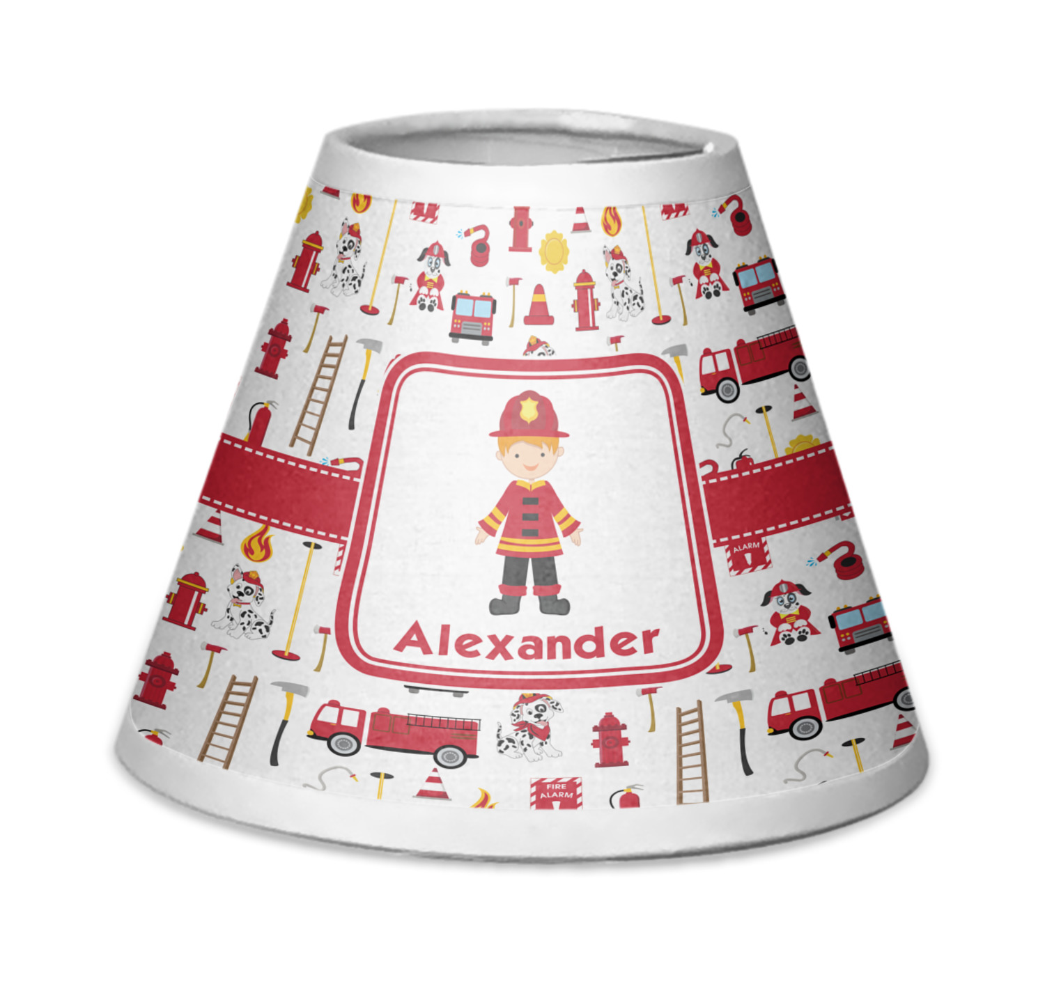 Firefighter Chandelier Lamp Shade Personalized YouCustomizeIt