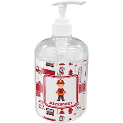 Firefighter Soap / Lotion Dispenser (Personalized)