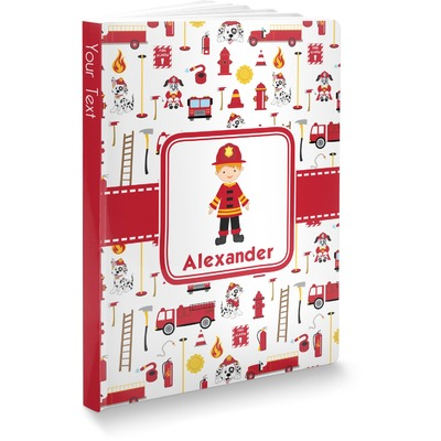 Firefighter Character Softbound Notebook (Personalized)