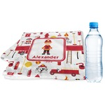 Firefighter Character Sports & Fitness Towel w/ Name or Text