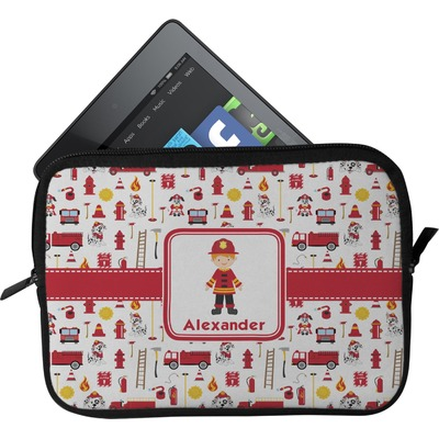 Firefighter for Kids Tablet Case / Sleeve (Personalized)
