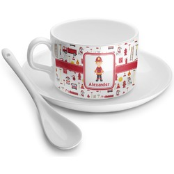 Firefighter Tea Cup - Single (Personalized)