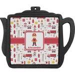 Firefighter Teapot Trivet (Personalized)