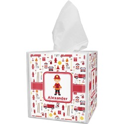 Firefighter for Kids Tissue Box Cover (Personalized)