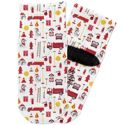 Firefighter Toddler Ankle Socks (Personalized)