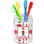 Firefighter Character Toothbrush Holder (Personalized)