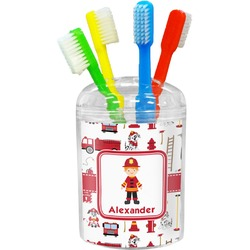 Firefighter for Kids Toothbrush Holder (Personalized)
