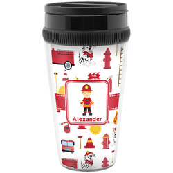 Firefighter for Kids Travel Mugs (Personalized)