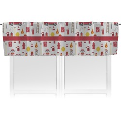 Firefighter for Kids Valance (Personalized)