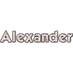 Firefighter for Kids Name/Text Decal - Custom Sized (Personalized)