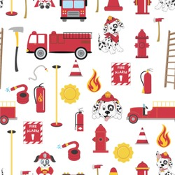 Firefighter for Kids Wallpaper & Surface Covering