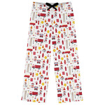 Firefighter Character Womens Pajama Pants (Personalized)