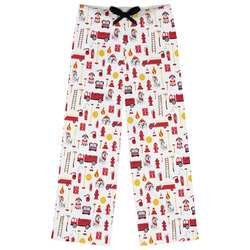 Firefighter for Kids Womens Pajama Pants - XL (Personalized)