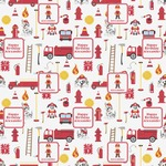 Firefighter Wrapping Paper (Personalized)