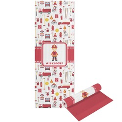 Firefighter for Kids Yoga Mat - Printable Front and Back (Personalized)