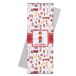 Firefighter for Kids Yoga Mat Towel (Personalized)