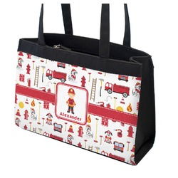 Firefighter for Kids Zippered Everyday Tote (Personalized)