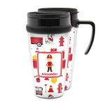Firefighter Character Acrylic Travel Mugs (Personalized)