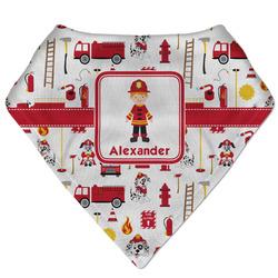Firefighter Character Bandana Bib (Personalized)