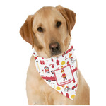 Firefighter Character Dog Bandana Scarf w/ Name or Text