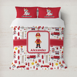 Firefighter for Kids Duvet Covers (Personalized)