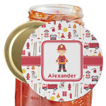 Firefighter Character Jar Opener (Personalized)
