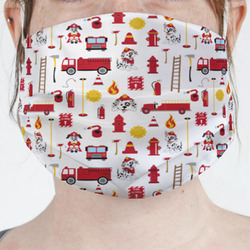 Firefighter Character Face Mask Cover (Personalized)