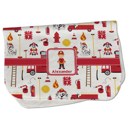 Firefighter for Kids Burp Cloth - Fleece w/ Name or Text