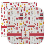 Firefighter Character Facecloth / Wash Cloth (Personalized)