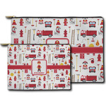 Firefighter Character Zipper Pouch (Personalized)