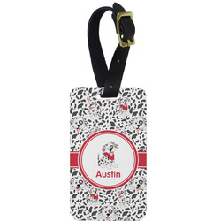 Dalmation Aluminum Luggage Tag (Personalized)