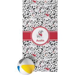 Dalmation Beach Towel (Personalized)
