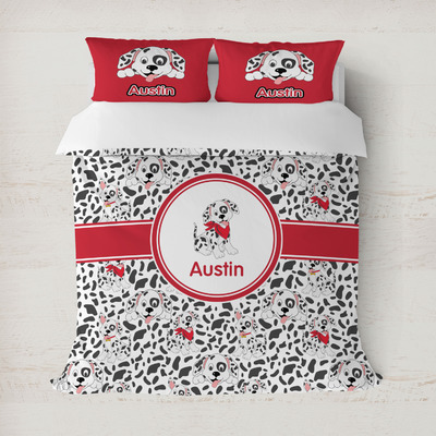 Dalmation Duvet Cover (Personalized)