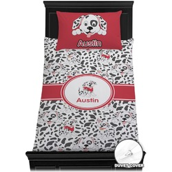 Dalmation Duvet Cover Set - Twin (Personalized)