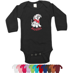 Dalmation Bodysuit - Long Sleeves - 12-18 months (Personalized)