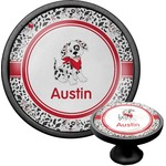Dalmation Cabinet Knob (Black) (Personalized)