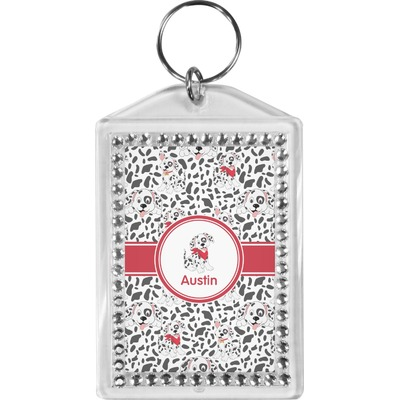 Dalmation Bling Keychain (Personalized)