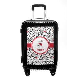 Dalmation Carry On Hard Shell Suitcase (Personalized)