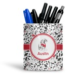 Dalmation Ceramic Pen Holder