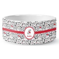Dalmation Pet Bowl (Personalized)