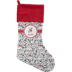 Dalmation Christmas Stocking (Personalized)