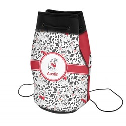 Dalmation Neoprene Drawstring Backpack (Personalized)